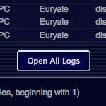 Open Up All Logs Screenshot