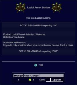 Lucidi Armor Station Screen (x5 Armor)
